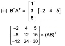 Plus Two Maths Chapter Wise Questions and Answers Chapter 3 Matrices 6M Q5.2