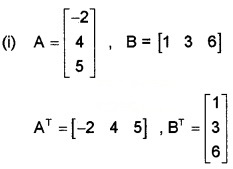 Plus Two Maths Chapter Wise Questions and Answers Chapter 3 Matrices 6M Q5