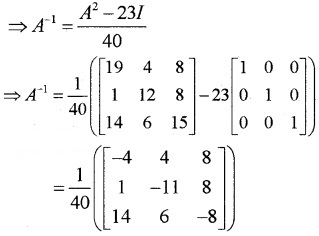 Plus Two Maths Chapter Wise Questions and Answers Chapter 3 Matrices 6M Q7.2
