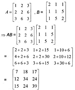 Plus Two Maths Chapter Wise Questions and Answers Chapter 3 Matrices 6M Q8.1