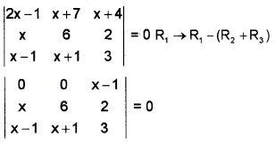 Plus Two Maths Chapter Wise Questions and Answers Chapter 4 Determinants 3M Q3