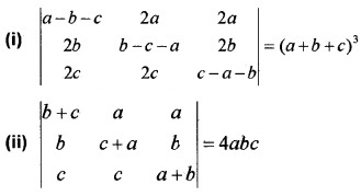 Plus Two Maths Chapter Wise Questions and Answers Chapter 4 Determinants 3M Q6