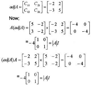 Plus Two Maths Chapter Wise Questions and Answers Chapter 4 Determinants 4M Q10