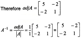 Plus Two Maths Chapter Wise Questions and Answers Chapter 4 Determinants 4M Q11.1