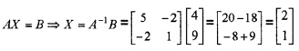 Plus Two Maths Chapter Wise Questions and Answers Chapter 4 Determinants 4M Q11.2