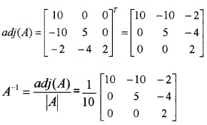 Plus Two Maths Chapter Wise Questions and Answers Chapter 4 Determinants 4M Q13.1