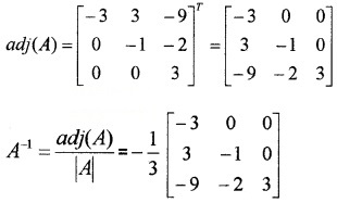 Plus Two Maths Chapter Wise Questions and Answers Chapter 4 Determinants 4M Q13.2
