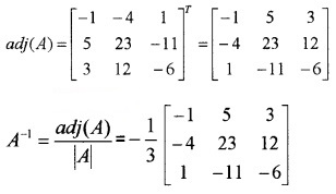 Plus Two Maths Chapter Wise Questions and Answers Chapter 4 Determinants 4M Q13.3