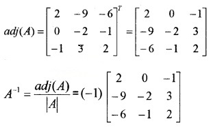 Plus Two Maths Chapter Wise Questions and Answers Chapter 4 Determinants 4M Q13.4
