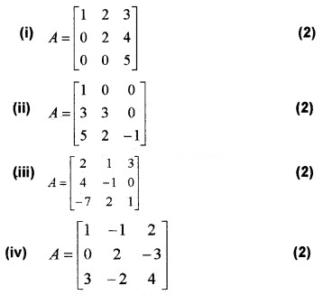 Plus Two Maths Chapter Wise Questions and Answers Chapter 4 Determinants 4M Q13