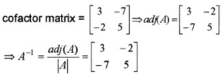 Plus Two Maths Chapter Wise Questions and Answers Chapter 4 Determinants 4M Q14