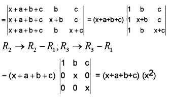 Plus Two Maths Chapter Wise Questions and Answers Chapter 4 Determinants 4M Q2.2
