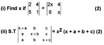 Plus Two Maths Chapter Wise Questions and Answers Chapter 4 Determinants 4M Q2