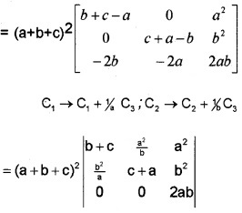 Plus Two Maths Chapter Wise Questions and Answers Chapter 4 Determinants 4M Q3.1