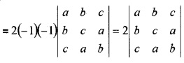 Plus Two Maths Chapter Wise Questions and Answers Chapter 4 Determinants 4M Q4.1