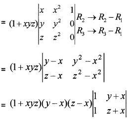 Plus Two Maths Chapter Wise Questions and Answers Chapter 4 Determinants 4M Q8.1