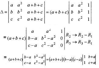 Plus Two Maths Chapter Wise Questions and Answers Chapter 4 Determinants 4M Q9