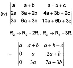 Plus Two Maths Chapter Wise Questions and Answers Chapter 4 Determinants 6M Q1