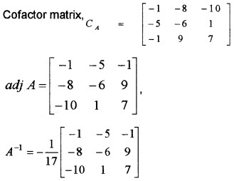 Plus Two Maths Chapter Wise Questions and Answers Chapter 4 Determinants 6M Q12