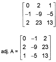 Plus Two Maths Chapter Wise Questions and Answers Chapter 4 Determinants 6M Q3