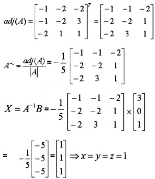 Plus Two Maths Chapter Wise Questions and Answers Chapter 4 Determinants 6M Q5