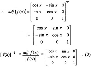 Plus Two Maths Chapter Wise Questions and Answers Chapter 4 Determinants 6M Q6.1