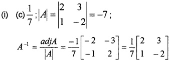 Plus Two Maths Chapter Wise Questions and Answers Chapter 4 Determinants 6M Q7