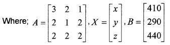 Plus Two Maths Chapter Wise Questions and Answers Chapter 4 Determinants 6M Q8