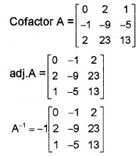 Plus Two Maths Chapter Wise Questions and Answers Chapter 4 Determinants 6M Q9