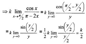 Plus Two Maths Chapter Wise Questions and Answers Chapter 5 Continuity and Differentiability 3M Q12.1