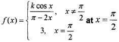 Plus Two Maths Chapter Wise Questions and Answers Chapter 5 Continuity and Differentiability 3M Q12