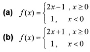 Plus Two Maths Chapter Wise Questions and Answers Chapter 5 Continuity and Differentiability 3M Q2