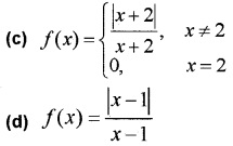 Plus Two Maths Chapter Wise Questions and Answers Chapter 5 Continuity and Differentiability 3M Q4.2