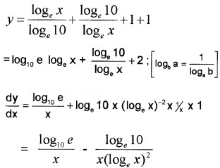 Plus Two Maths Chapter Wise Questions and Answers Chapter 5 Continuity and Differentiability 3M Q6