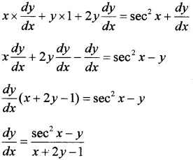 Plus Two Maths Chapter Wise Questions and Answers Chapter 5 Continuity and Differentiability 3M Q8.1