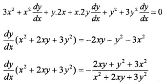 Plus Two Maths Chapter Wise Questions and Answers Chapter 5 Continuity and Differentiability 3M Q8.2