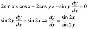 Plus Two Maths Chapter Wise Questions and Answers Chapter 5 Continuity and Differentiability 3M Q8.3