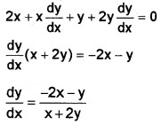 Plus Two Maths Chapter Wise Questions and Answers Chapter 5 Continuity and Differentiability 3M Q8.5