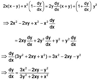 Plus Two Maths Chapter Wise Questions and Answers Chapter 5 Continuity and Differentiability 3M Q8.6