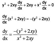 Plus Two Maths Chapter Wise Questions and Answers Chapter 5 Continuity and Differentiability 3M Q8.7