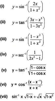 Plus Two Maths Chapter Wise Questions and Answers Chapter 5 Continuity and Differentiability 3M Q9