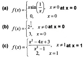 Plus Two Maths Chapter Wise Questions and Answers Chapter 5 Continuity and Differentiability 4M Q19