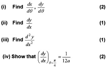 Plus Two Maths Chapter Wise Questions and Answers Chapter 5 Continuity and Differentiability 6M Q6