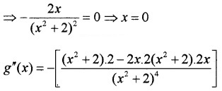 Plus Two Maths Chapter Wise Questions and Answers Chapter 6 Application of Derivatives 3M Q17.4