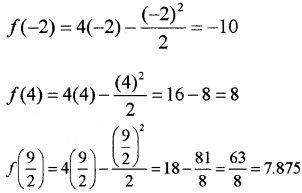 Plus Two Maths Chapter Wise Questions and Answers Chapter 6 Application of Derivatives 3M Q18