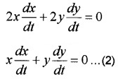 Plus Two Maths Chapter Wise Questions and Answers Chapter 6 Application of Derivatives 3M Q2.1