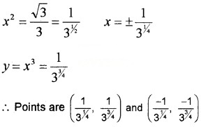 Plus Two Maths Chapter Wise Questions and Answers Chapter 6 Application of Derivatives 3M Q3