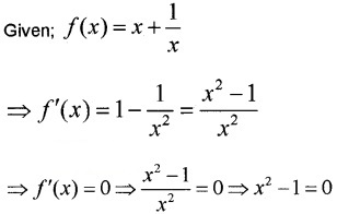 Plus Two Maths Chapter Wise Questions and Answers Chapter 6 Application of Derivatives 3M Q7