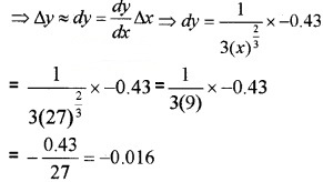 Plus Two Maths Chapter Wise Questions and Answers Chapter 6 Application of Derivatives 4M Q12