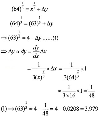 Plus Two Maths Chapter Wise Questions and Answers Chapter 6 Application of Derivatives 4M Q18